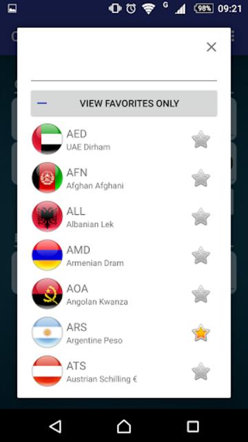 Currency X Pro screenshot 4