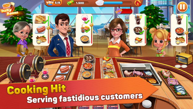 Cooking Hit - Chef Fever, Cooking Game Restaurant screenshot 1