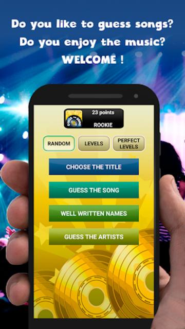 Guess the song - music games free screenshot 1