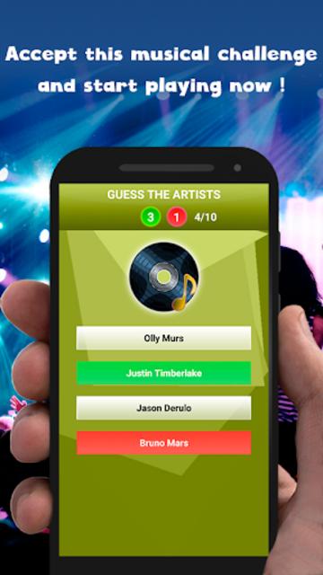 Guess the song - music games free screenshot 8
