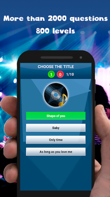 Guess the song - music games free screenshot 10