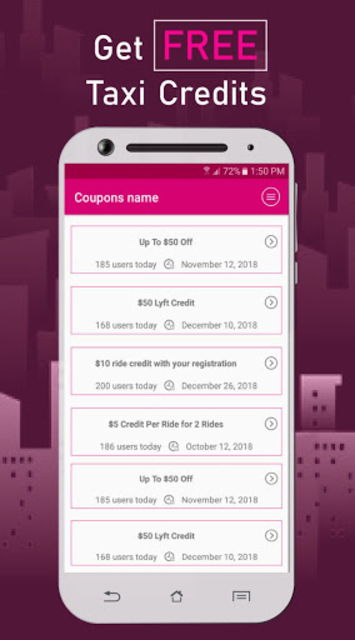 Coupon Codes for Lyft screenshot 2