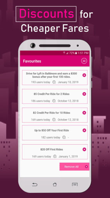 Coupon Codes for Lyft screenshot 3