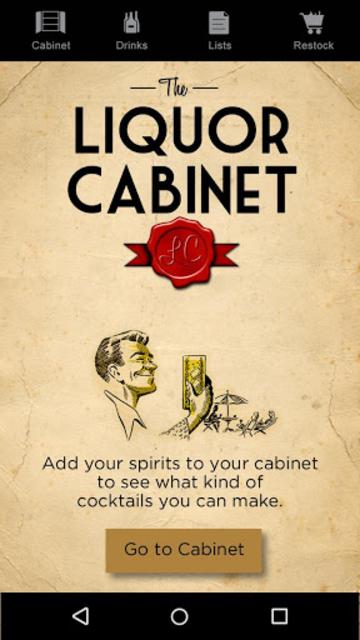 Liquor Cabinet screenshot 1