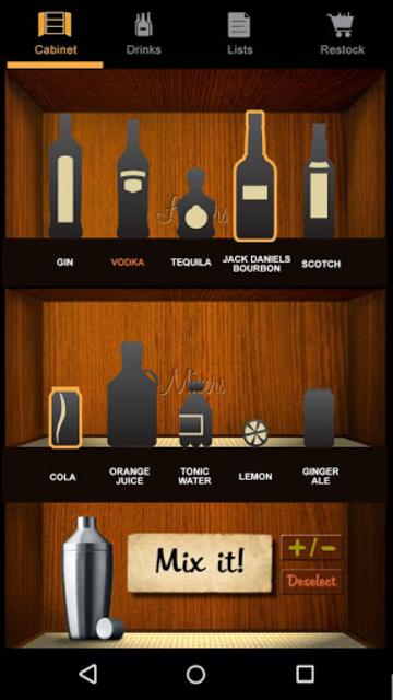Liquor Cabinet screenshot 2