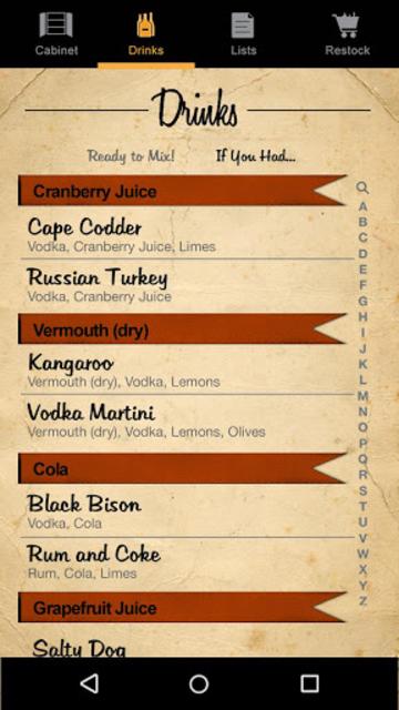 Liquor Cabinet screenshot 4