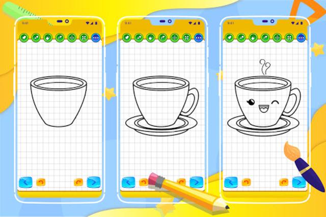 Learn How to Draw Cute Drinks screenshot 8