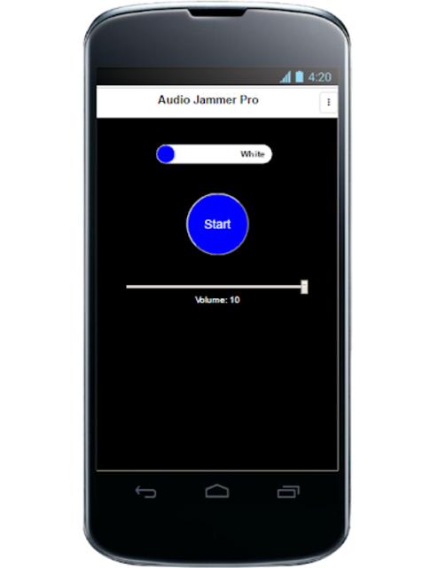 Audio Jammer Pro screenshot 5