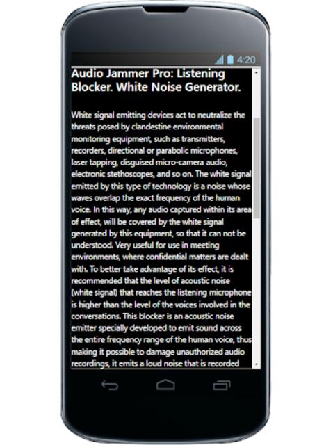 Audio Jammer Pro screenshot 8