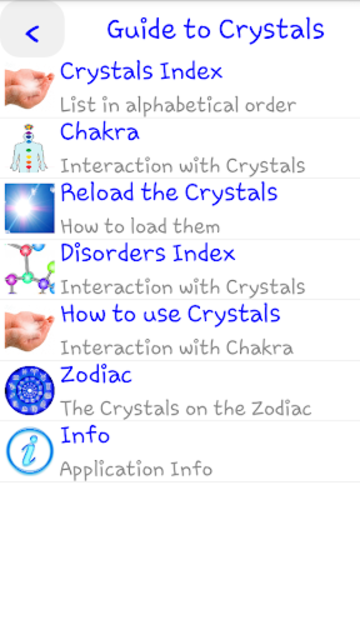 Guide to Crystals screenshot 2