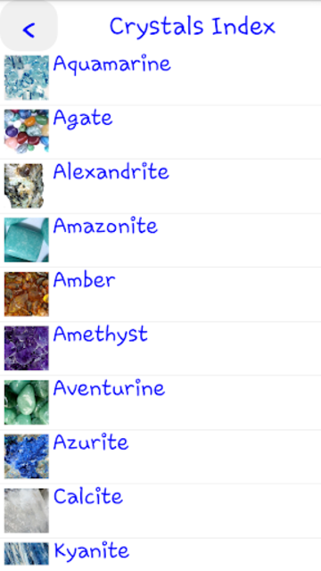 Guide to Crystals screenshot 3