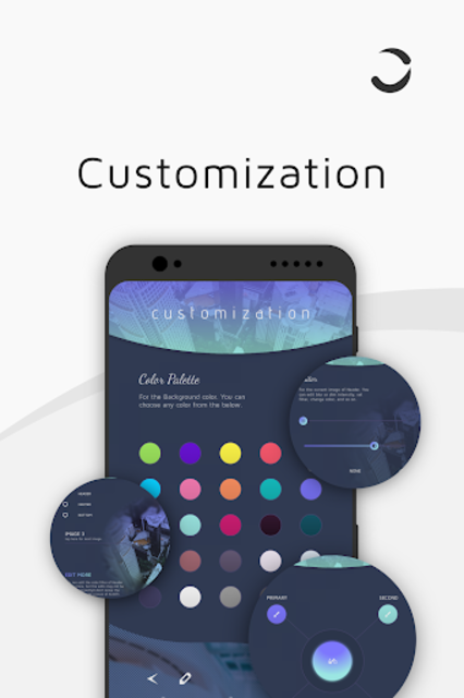CurvingUI for Kustom KLWP screenshot 2