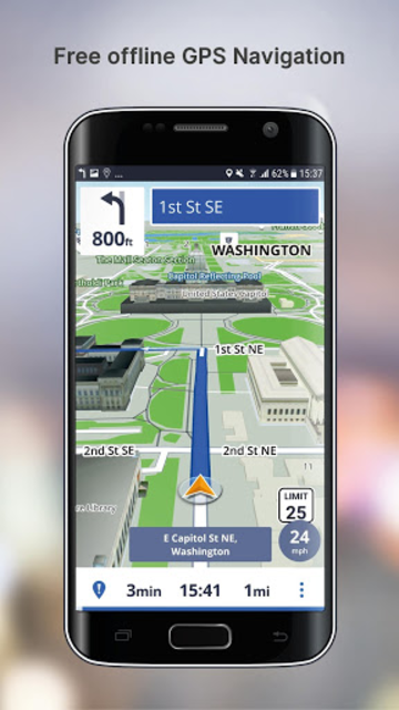 Free GPS Navigation screenshot 1