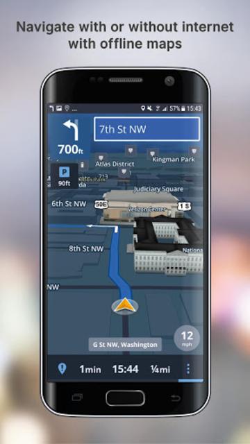 Free GPS Navigation screenshot 2
