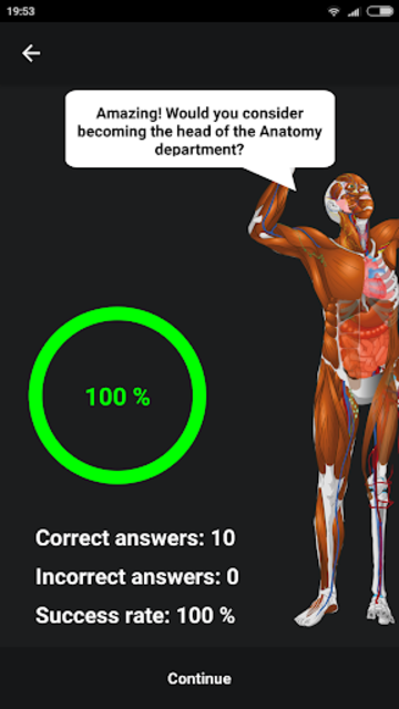 Memorix Anatomy QUIZ screenshot 8