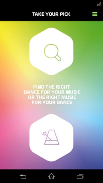 DancePicker screenshot 1