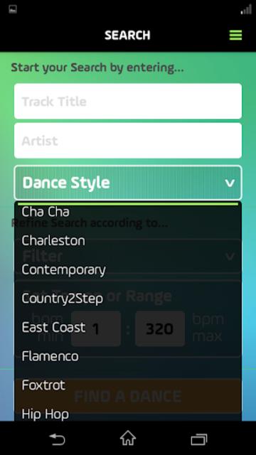 DancePicker screenshot 6