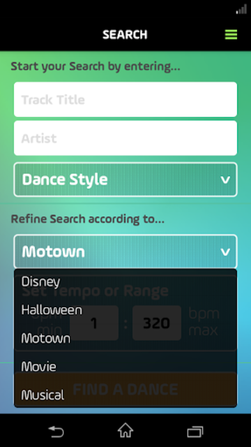 DancePicker screenshot 7