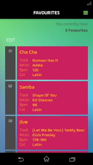 DancePicker screenshot 8