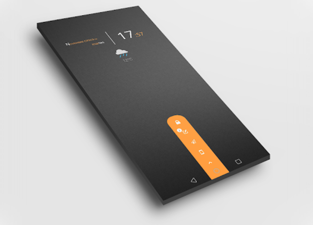 Dark Flow TS2B UI for Klwp screenshot 2