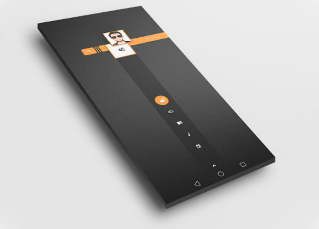 Dark Flow TS2B UI for Klwp screenshot 3