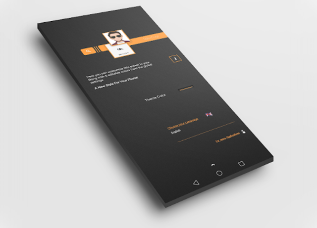 Dark Flow TS2B UI for Klwp screenshot 4