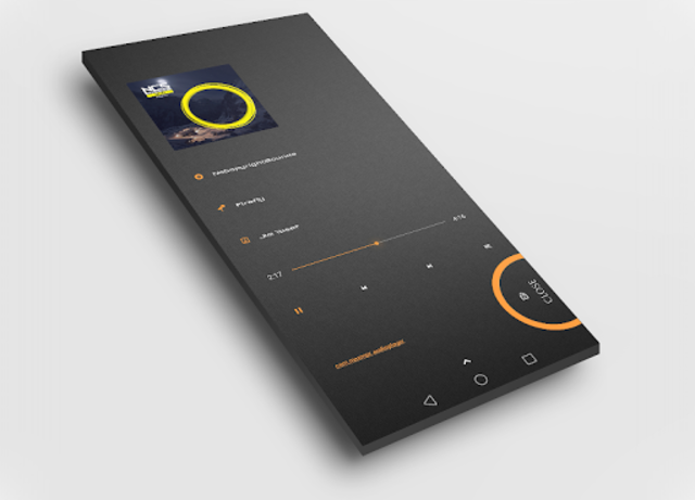 Dark Flow TS2B UI for Klwp screenshot 6
