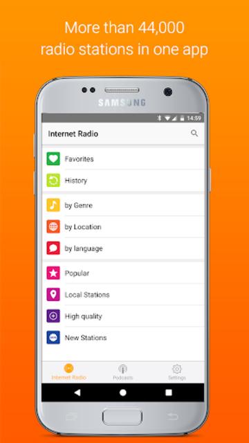 Receiver - Internet Radio screenshot 1