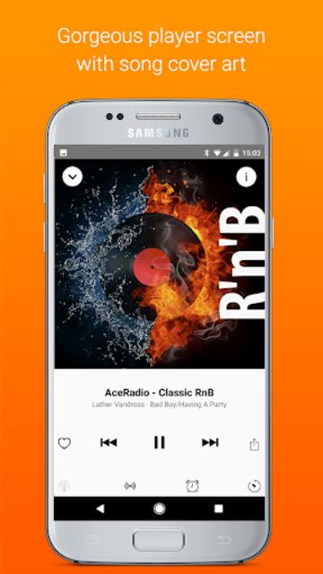 Receiver - Internet Radio screenshot 2