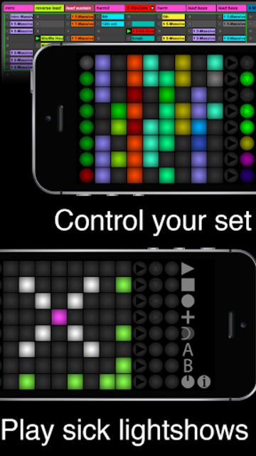 Launch Buttons Plus - Ableton MIDI Controller screenshot 1