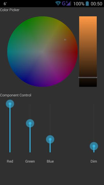 LiDroid for Lightify screenshot 2