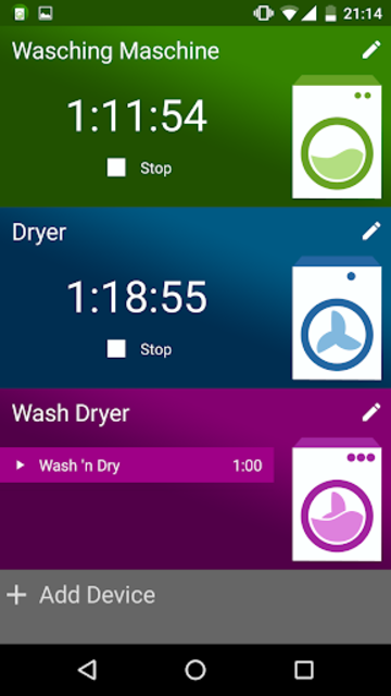 Washy! Laundry Timer screenshot 4
