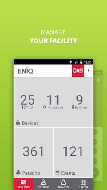 ENiQ App screenshot 2