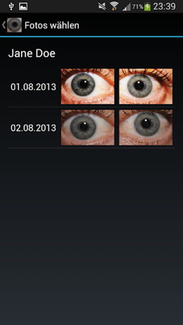 Eye Diagnosis screenshot 1
