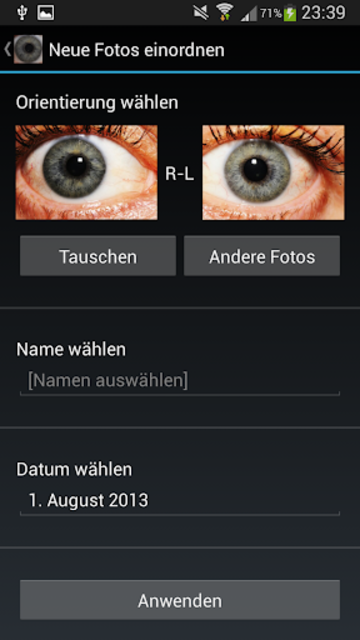 Eye Diagnosis screenshot 2