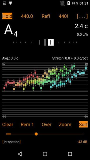 Harmonic Tuner Intonation Expert screenshot 1