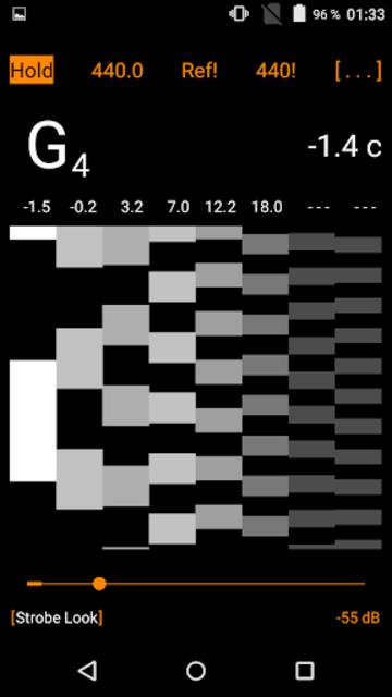 Harmonic Tuner Intonation Expert screenshot 4