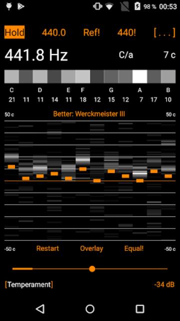 Harmonic Tuner Intonation Expert screenshot 5