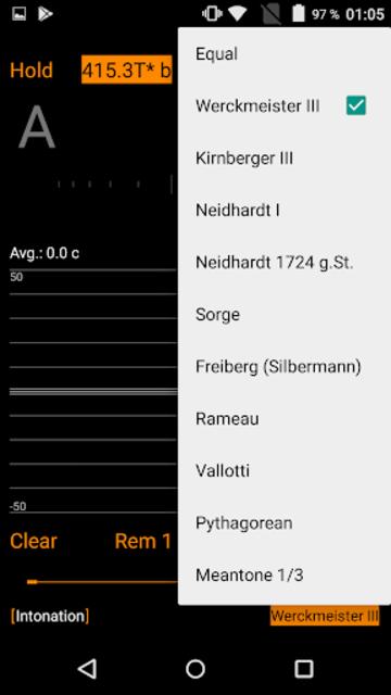 Harmonic Tuner Intonation Expert screenshot 8