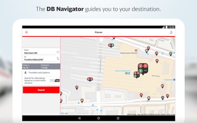 DB Navigator screenshot 12