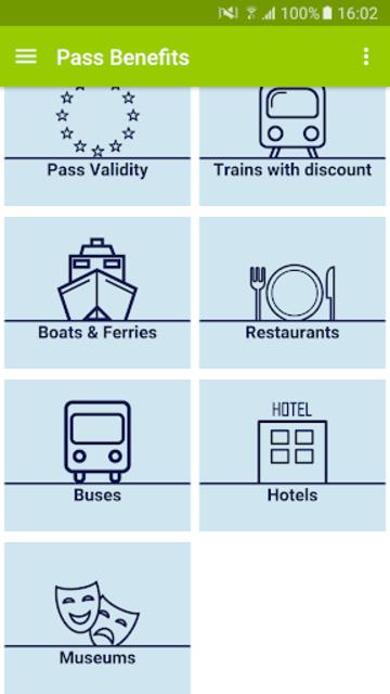Rail Planner  Eurail/Interrail screenshot 2
