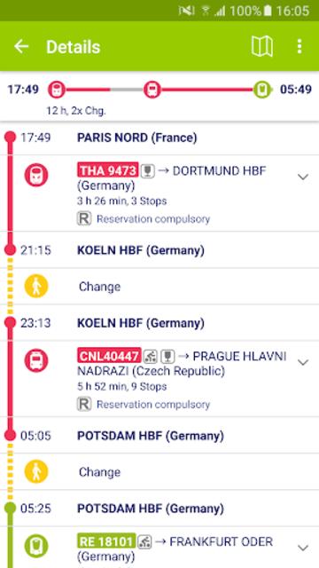Rail Planner  Eurail/Interrail screenshot 5