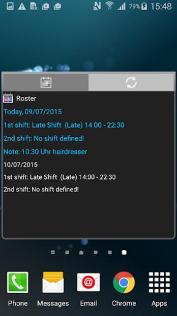 Roster-Calendar Pro screenshot 7