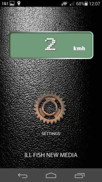Speaking Bicycle Speedometer screenshot 2