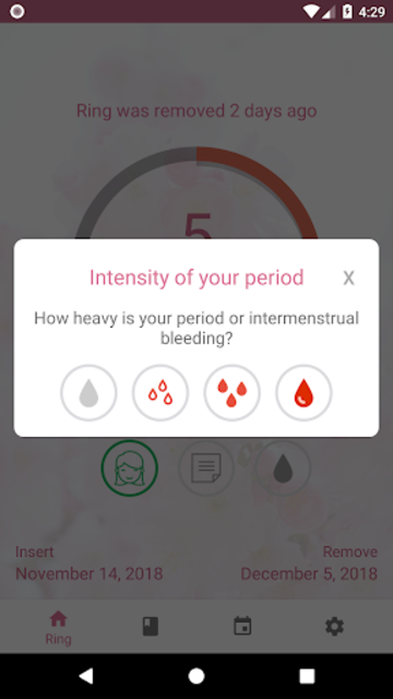 MyRing - Contraceptive ring screenshot 8