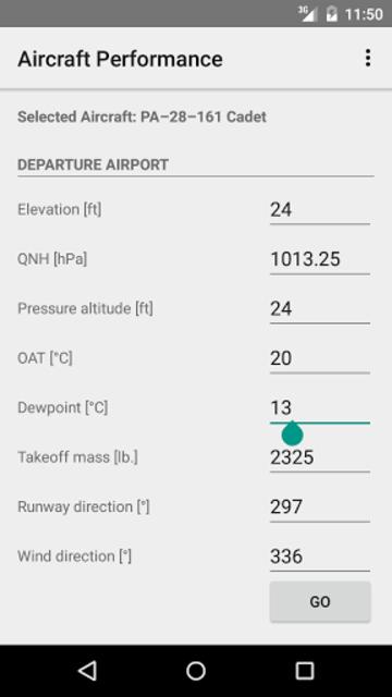 Aircraft Performance screenshot 1