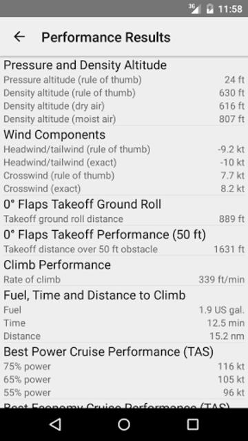 Aircraft Performance screenshot 4
