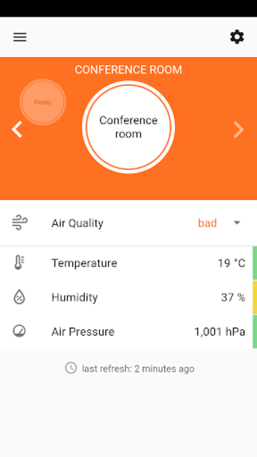 Indoor Air Quality Sensor screenshot 2