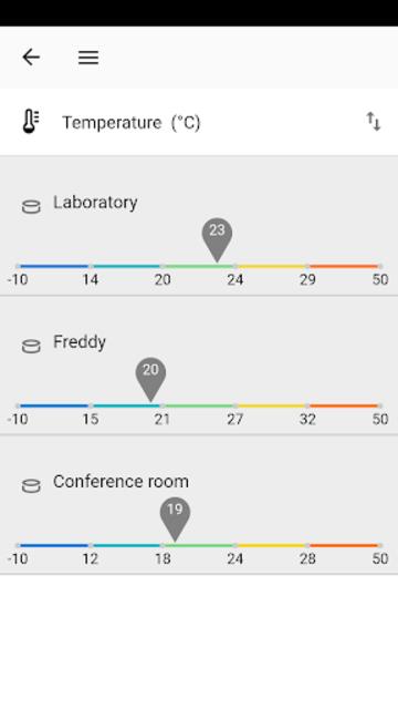 Indoor Air Quality Sensor screenshot 4