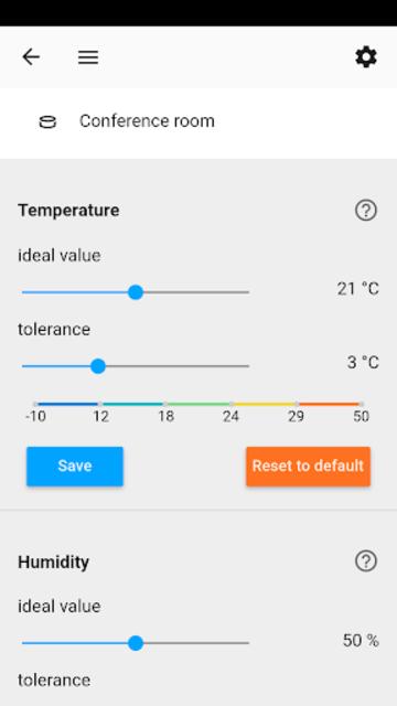 Indoor Air Quality Sensor screenshot 5